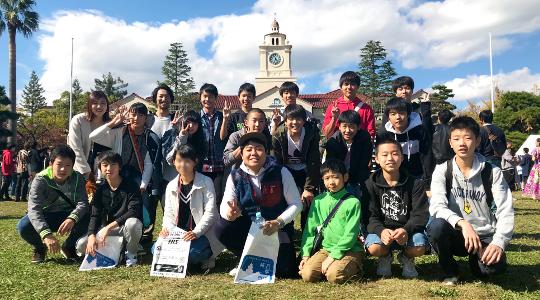 2018年11月 関西学院大学 学園祭にて